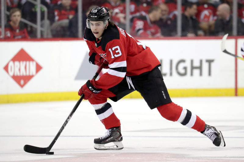 d8fe344a6 Devils  Hischier latest in line of skilled Swiss forwards