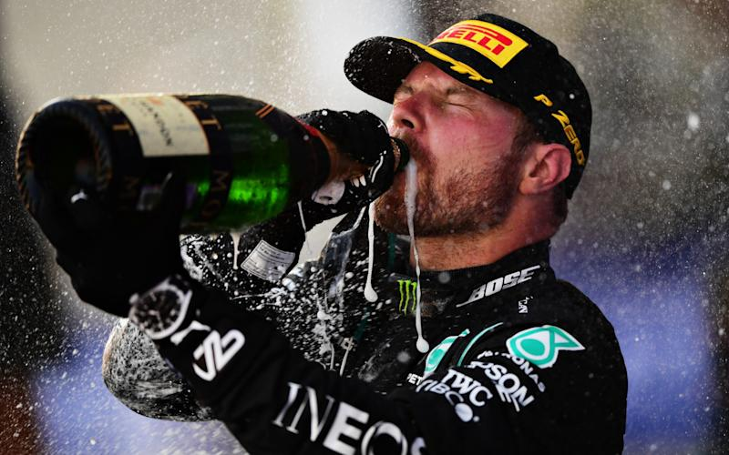 Bottas secured his second win of the season - Getty Images