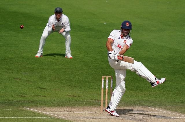 Alastair Cook reached another fifty for Essex in the Bob Willis Trophy
