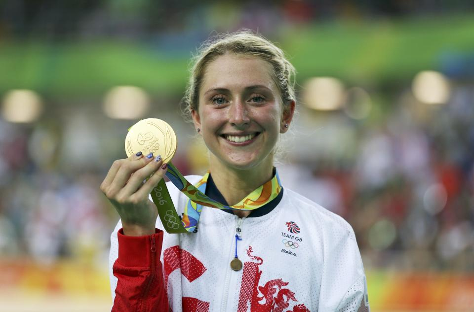 Great Britain's Laura Kenny could become Britain's all-time top gold medallist with success in Tokyo (Picture: Reuters)