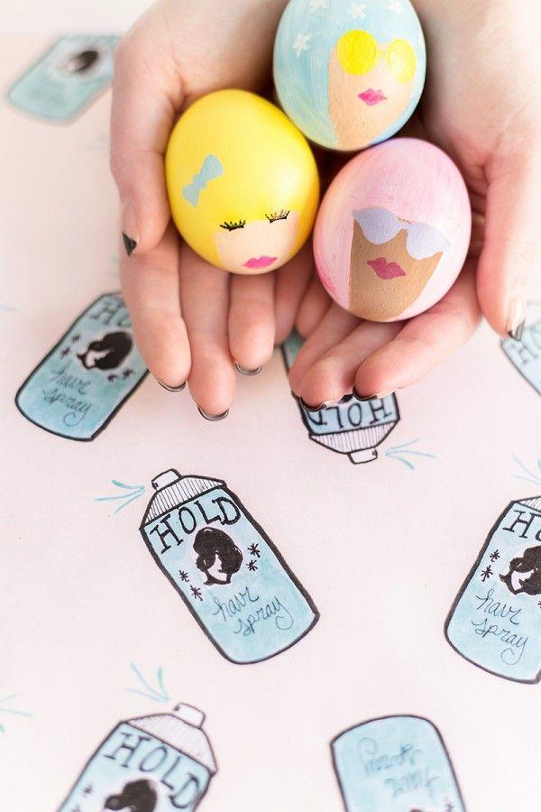 """<p>Is there any cuter Easter egg to dot the table at a girls' brunch? After you paint the hair, draw on features like sunglasses, eye lashes, lips — whatever speaks to you!</p><p><em><a href=""""https://studiodiy.com/diy-bouffant-easter-eggs/"""" rel=""""nofollow noopener"""" target=""""_blank"""" data-ylk=""""slk:Get the tutorial at Studio DIY"""" class=""""link rapid-noclick-resp"""">Get the tutorial at Studio DIY </a></em></p>"""