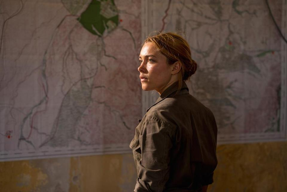 Florence Pugh as Charlie in <em>The Little Drummer Girl</em> (Picture: BBC)