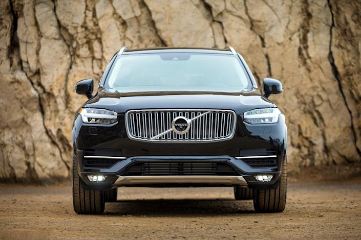 "<p><a href=""https://www.caranddriver.com/volvo/xc90"" rel=""nofollow noopener"" target=""_blank"" data-ylk=""slk:Volvo's XC90"" class=""link rapid-noclick-resp"">Volvo's XC90</a> anchors the classy, stately end of <a href=""https://www.caranddriver.com/features/g24419845/mid-size-luxury-crossovers-suvs-ranked/"" rel=""nofollow noopener"" target=""_blank"" data-ylk=""slk:the mid-size luxury crossover segment"" class=""link rapid-noclick-resp"">the mid-size luxury crossover segment</a>. Its rectilinear styling is handsome and understated, its interior is luxurious, and its available plug-in hybrid powertrain is high-tech and powerful. Precious little about this plush SUV is presumptuous or overdone, and even the numerous nods to its Swedish heritage are thoughtfully and cleverly executed. </p><p>Swipe on for a look at Volvo's XC90 <a href=""https://www.caranddriver.com/news/a26469134/2020-volvo-xc90-suv-photos-info/"" rel=""nofollow noopener"" target=""_blank"" data-ylk=""slk:before it is updated for 2020"" class=""link rapid-noclick-resp"">before it is updated for 2020</a>: <br></p>"