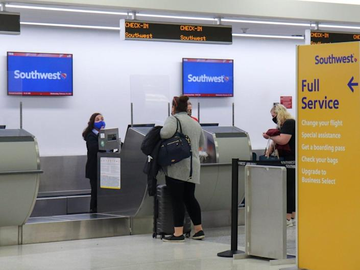 Flying Southwest Airlines during pandemic
