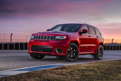 2018 jeep android auto. beautiful jeep injected with an unmatched 707 horsepower courtesy of aweinspiring  supercharged 62liter v8 engine the most awarded suv ever and capable  intended 2018 jeep android auto h