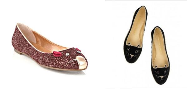 Its A Marc By Marc Jacobs Mouse Flats Vs. Charlotte Olympia