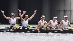 NZ Olympic Rowers Win Gold at Tokyo