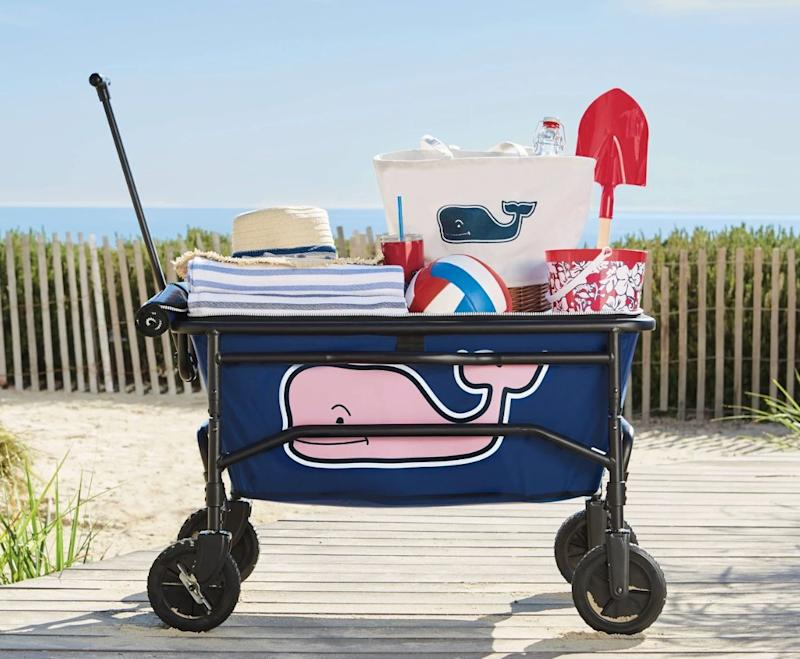 Vineyard Vines for Target Pink Whale Collapsible Wagon (Photo: Target)