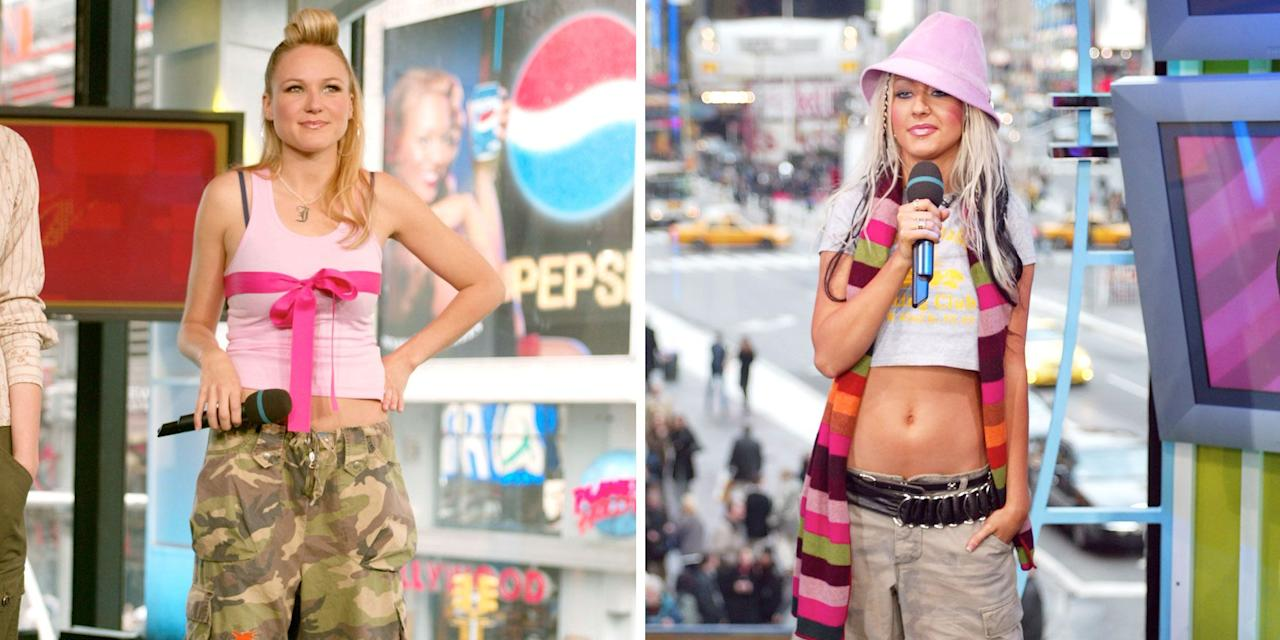 <p>The 2000s were a challenging time for celebrity fashion. For no apparent reason, layering became king, fedoras were suddenly stylish, and don't get me started on low-rise jeans. And if there was ever a place for the worst trends of the decade to be showcased, it was on MTV's <em>Total Request Live. </em>So join me, won't you, as I take a look back at the most cringe-worthy outfits celebrities proudly wore on national television.<em></em></p>