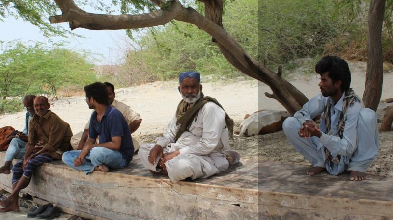 Livelihoods of Pakistan fishing communities along the Indus dry up with the river