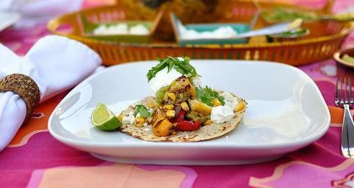 "<p>Skip the meat altogether and throw your favorite vegetables on the grill for an easy vegetarian taco. Top it with salsa, cotija cheese, cilantro, or guacamole. </p> <p><strong>Get the recipe:</strong> <a href=""https://www.popsugar.com/food/Grilled-Vegetarian-Tacos-Barbecued-Guacamole-18836057"" class=""link rapid-noclick-resp"" rel=""nofollow noopener"" target=""_blank"" data-ylk=""slk:grilled vegetable tacos"">grilled vegetable tacos</a></p>"