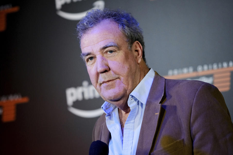 """Co-host Jeremy Clarkson attends Amazon Studio's """"The Grand Tour"""" season two premiere screening and party at Duggal Greenhouse on Thursday, Dec. 7, 2017, in New York. (Photo by Evan Agostini/Invision/AP)"""