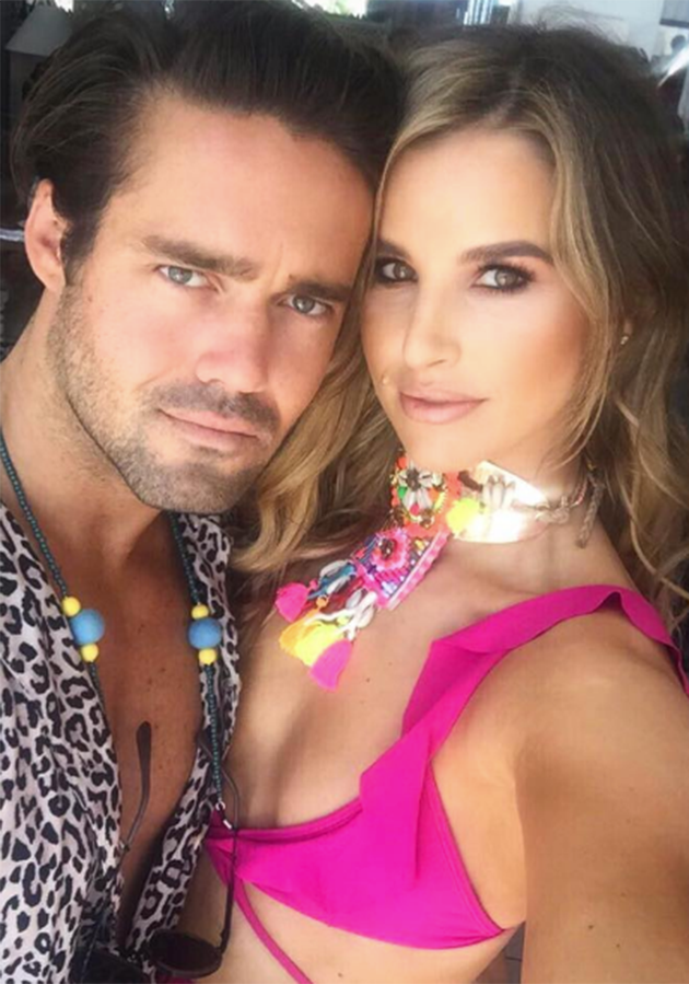 Vogue has been dating Spencer Matthew for the past four months. He is the brother of PIppa's husband-to-be. Photo: Instagram