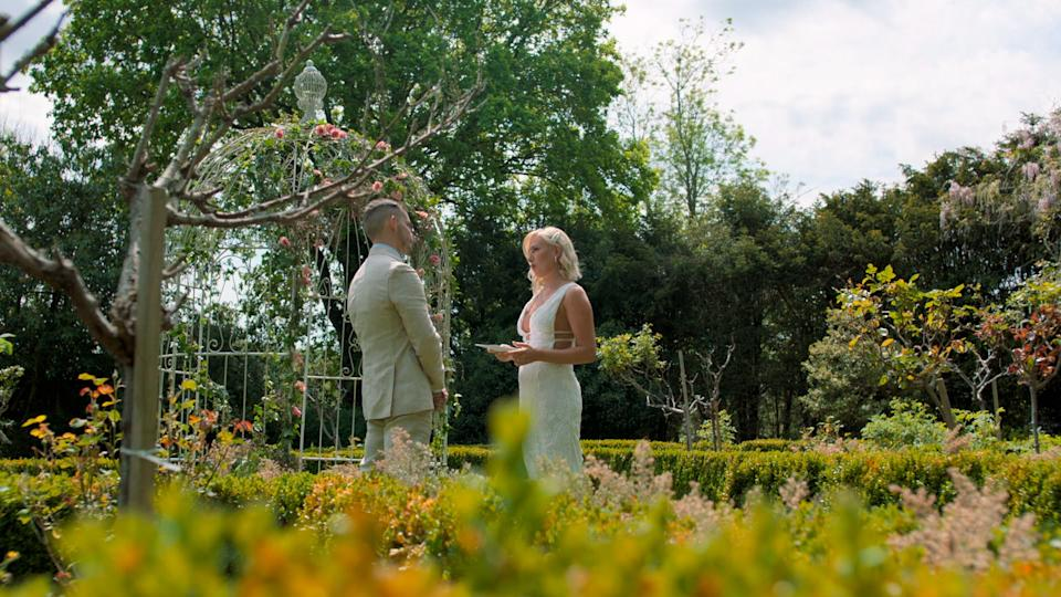 Married at first sight Luke and Morag