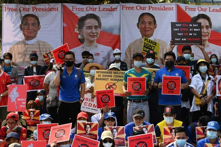 Much of Myanmar has been in uproar since troops detained civilian leader Aung San Suu Kyi and her top political allies on February 1, 2021