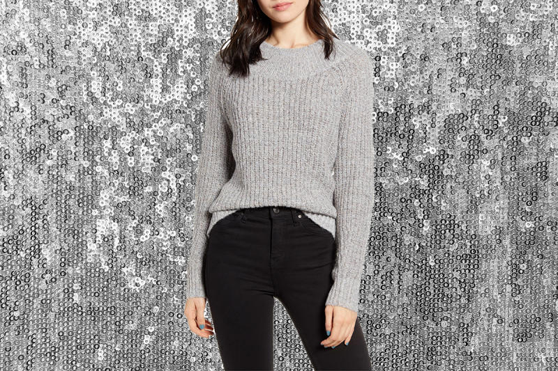 Twinkle with this cozy knit. (Photo illustration: Yahoo Lifestyle; Photo: Nordstrom)