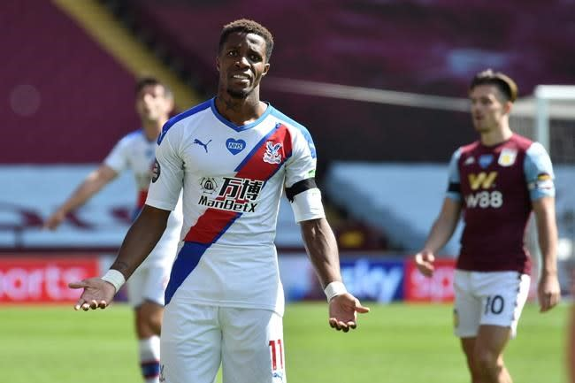 Palace player Zaha wants action against online racial abuse