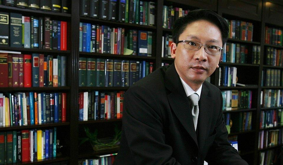 Rimsky Yuen came under fire for agreeing to serve as a delegate to Guangdong's top political advisory body in 2008 while he was Bar Association chairman. Photo: SCMP Pictures