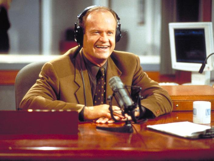 <p>Frasier revival in the works at Paramount+, report says</p> (Getty Images)