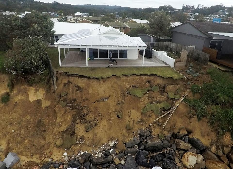 Residents are blaming the Central Coast Council for not taking action. Source: AAP
