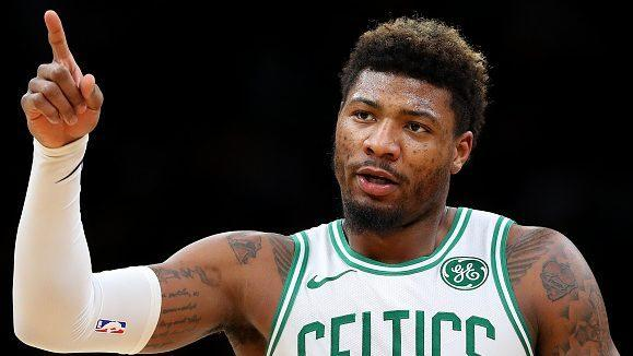 """buy online 73aee 4ca35 Marcus Smart on today's NBA: """"Everything's become real cute ..."""
