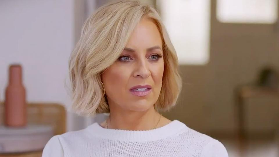 Carrie Bickmore was left shocked after hearing a woman's