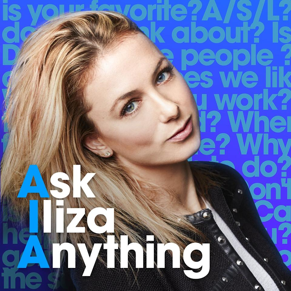 "<p>Comedian Iliza Shlesinger has a lot of advice to give, and she's taking questions! If you loved her Netflix special <strong>Elder Millennial</strong>, you'll love her podcast. She offers up answers to your burning questions with advice like her best breakup tips or proper public restroom etiquette. She also brings on fellow comedians, so you get tokens of wisdom and a good chuckle.</p> <p><a href=""http://podcasts.apple.com/us/podcast/ask-iliza-anything/id898873166"" target=""_blank"" class=""ga-track"" data-ga-category=""Related"" data-ga-label=""http://podcasts.apple.com/us/podcast/ask-iliza-anything/id898873166"" data-ga-action=""In-Line Links"">Listen to <strong>Ask Iliza Anything</strong> here</a>.</p>"