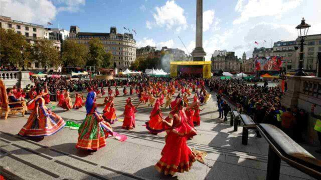 The UK prepping up for its Diwali celebrations.