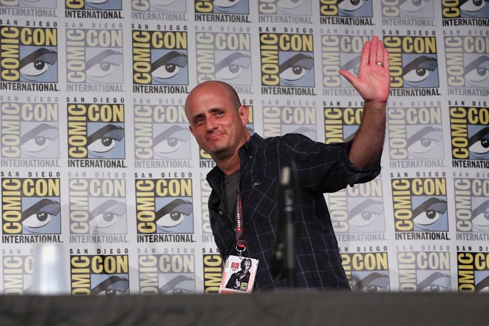 "COMIC-CON INTERNATIONAL: SAN DIEGO 2017 -- ""Timeless Panel"" -- Pictured: Eric Kripke, Executive Producer -- (Photo by: Mark Davis/NBCU Photo Bank/NBCUniversal via Getty Images via Getty Images)"