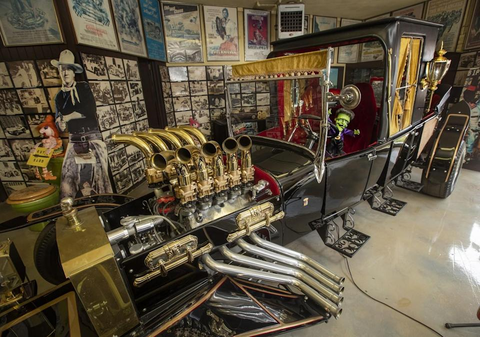 """The Munster Koach, designed and built for use in the 1964 television show """"The Munsters."""""""
