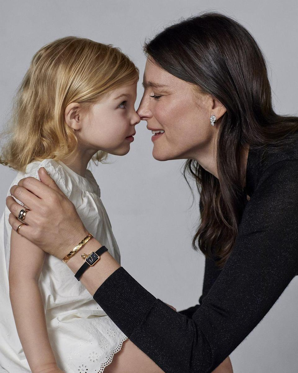 <p><strong>Has how you think about, buy or collect jewelry changed since becoming a mother?</strong></p><p><em>When I get a piece of jewelry since becoming a mother I realize it's only lent to me as I will pass pass it down to my children, and I hope they pass it down to their children. </em></p><p><strong>What is one surprising aspect of becoming a mother that you never could have expected?</strong></p><p><em>How you can function on not much sleep! </em><br></p>