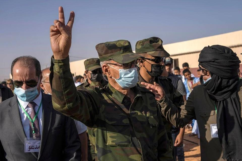 Algeria Polisario Front (Copyright 2021 The Associated Press. All rights reserved)