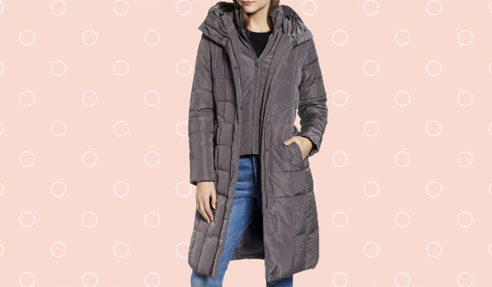Stay toasty warm in this two-layer coat. (Photo: Nordstrom)