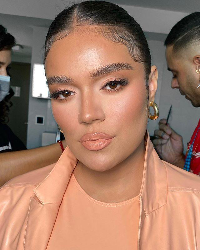 """<p>First came the over-tweezed brows, then the Instagram-favorite blocky brow, and now, fluffy, natural-looking brows are on trend. """"I like this trend because by brushing the brows up and making the hairs straight,"""" says celebrity makeup artist, <a href=""""https://www.instagram.com/patrickta/"""" rel=""""nofollow noopener"""" target=""""_blank"""" data-ylk=""""slk:Patrick Ta"""" class=""""link rapid-noclick-resp"""">Patrick Ta</a>, whose signature stamp is a full, fluffy brow. """"It changes the face shape and creates a more angled look and lifts the face."""" Chinchilla also thinks this trend will be huge this season, especially since face masks will continue to be worn well into the winter. """"Brows are such a focal point on the face so I love making sure they make a statement,"""" he says. Try out a product that tints and volumizes your brow hairs without making them appear drawn on or overly done, like the <a href=""""https://www.sephora.com/product/patrick-ta-soap-brow-P456592"""" rel=""""nofollow noopener"""" target=""""_blank"""" data-ylk=""""slk:Patrick Ta Beauty Major Brow Shaping Wax"""" class=""""link rapid-noclick-resp"""">Patrick Ta Beauty Major Brow Shaping Wax</a> or <a href=""""https://www.glossier.com/products/boy-brow"""" rel=""""nofollow noopener"""" target=""""_blank"""" data-ylk=""""slk:Glossier Boy Brow"""" class=""""link rapid-noclick-resp"""">Glossier Boy Brow</a>. Use a brow pen like <a href=""""https://www.ulta.com/brow-blade-waterproof-eyebrow-pencil-ink-stain?productId=pimprod2003341"""" rel=""""nofollow noopener"""" target=""""_blank"""" data-ylk=""""slk:Urban Decay's Brow Blade"""" class=""""link rapid-noclick-resp"""">Urban Decay's Brow Blade</a> to fill in any sparse areas. </p><p><a href=""""https://www.instagram.com/p/CD9W-3pjZQe/"""" rel=""""nofollow noopener"""" target=""""_blank"""" data-ylk=""""slk:See the original post on Instagram"""" class=""""link rapid-noclick-resp"""">See the original post on Instagram</a></p>"""