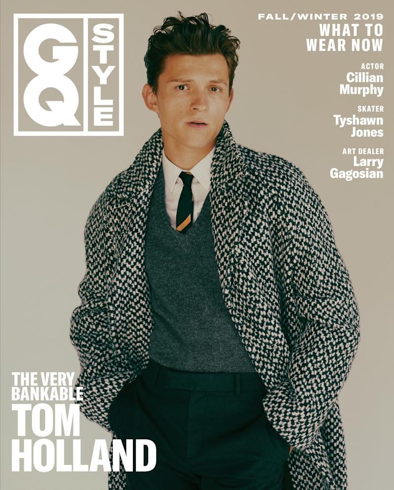 Tom Holland Covers the Fall 2019 Issue of GQ Style