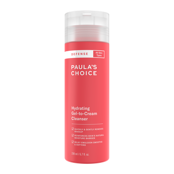 """<h3>Paula's Choice Hydrating Gel-To-Cream Cleanser<br></h3><br>Oat amino acids are the shining star of this Paula's Choice face wash, which hydrates and strengthens your skin barrier.<br><br><strong>Paula's Choice</strong> Hydrating Gel-to-Cream Cleanser, $, available at <a href=""""https://go.skimresources.com/?id=30283X879131&url=https%3A%2F%2Ffave.co%2F2XQ2fuB"""" rel=""""nofollow noopener"""" target=""""_blank"""" data-ylk=""""slk:Paula's Choice"""" class=""""link rapid-noclick-resp"""">Paula's Choice</a>"""