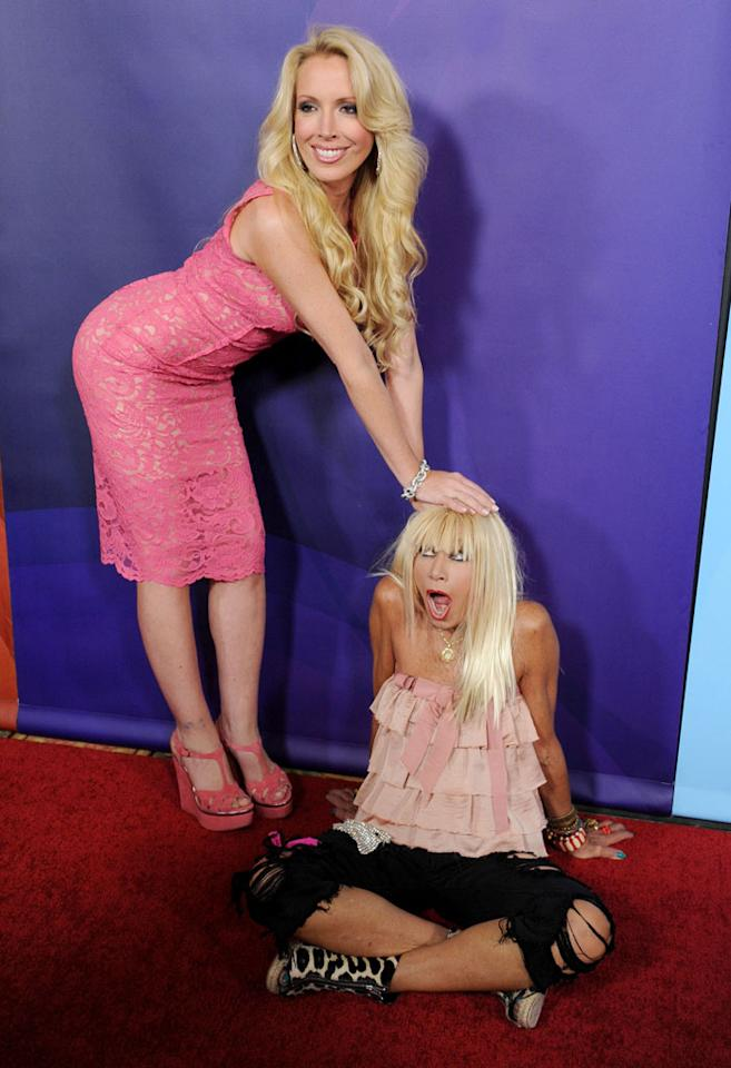 """Designer Betsey Johnson and daughter Lulu Johnson (""""XOX Betsey Johnson"""") attend the 2013 NBC Universal Summer Press Day held at The Langham Huntington Hotel and Spa on April 22, 2013 in Pasadena, California."""