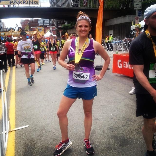 <p>I'm running my next race at the end of November to try and qualify for the Boston Marathon. I was working near the finish line on the day of the bombings, so completing the race has taken on a new meaning.</p><p><i>—Laura Beachy, 25, Brooklyn, New York. Finisher of six marathons, three ultramarathons, and 20 triathlons.</i></p>