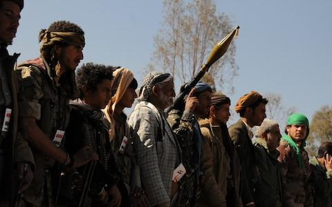 The Houthis have controlled Sanaa since 2015 - Credit: Mohammed Hamoud/Getty Images