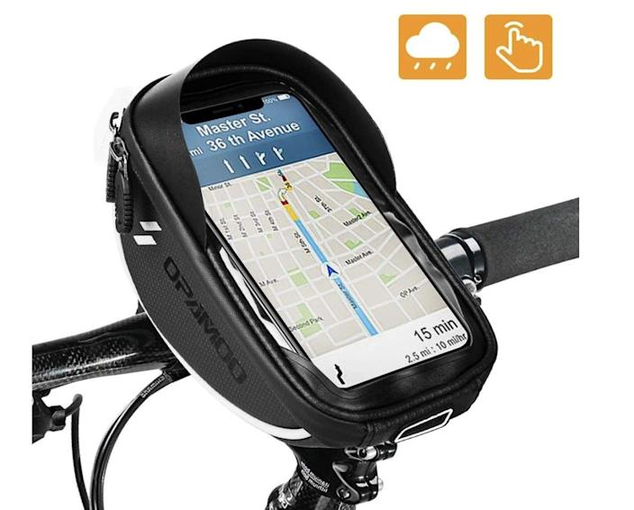 <p>This <span>Opamoo Bike Bicycle Phone-Mount Bag</span> ($13, originally $26) will make a biker's life so much easier.</p>