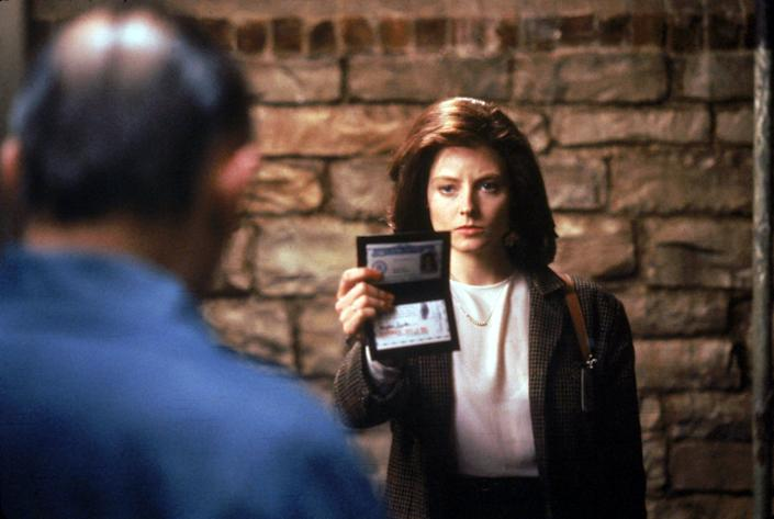 """Anthony Hopkins, left, and Jodie Foster won best actor and actress Oscars for their performances in 1991's """"The Silence of the Lambs."""""""