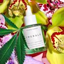 """<p>You're stressed, your skin's stressed, and then your stressed skin is making you even more stressed. Well, <span>Herbivore Emerald CBD + Adaptogens Deep Moisture Glow Oil</span> ($58) must be doing something right, because it earned more than 20,000 loves from Sephora shoppers. It's a full-spectrum CBD, which means it includes a total range of cannabinoids, and the presence of small amounts of THC (less than 0.3 percent) results in an """"entourage effect."""" Think of this as power in numbers as all the cannabinoids work together to be extra effective at calming redness and boosting hydration. Plus, it has ashwagandha, another herb that helps skin cope with lack of sleep, <a href=""""https://www.popsugar.com/latest/Stress-Relief"""" class=""""link rapid-noclick-resp"""" rel=""""nofollow noopener"""" target=""""_blank"""" data-ylk=""""slk:daily stress"""">daily stress</a>, pollution, and more.</p>"""