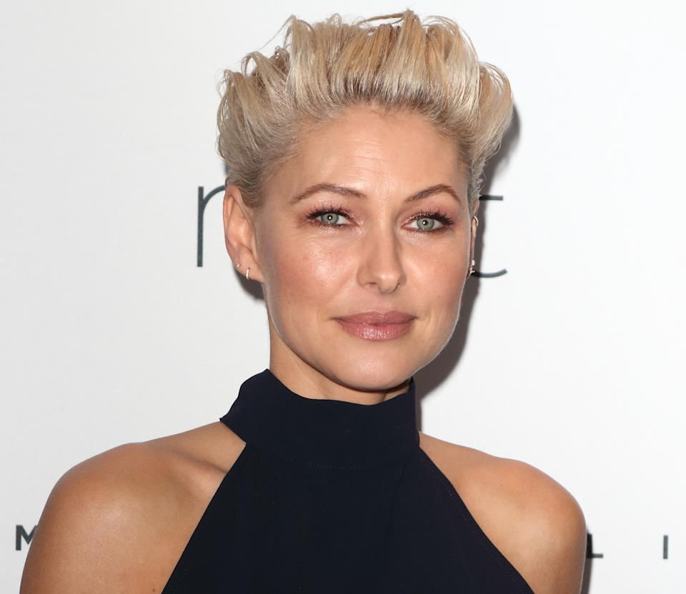 MARYLEBONE HOTEL, LONDON, UNITED KINGDOM - 2019/02/28: TV Presenter Emma Willis at a photo call for her range of 'Emma Willis for Next' clothing line at the Marylebone Hotel. (Photo by Keith Mayhew/SOPA Images/LightRocket via Getty Images)