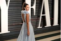 "<p>Braganza says she has her clients focus on this area. 'The glutes are a large muscle; they often become inactive due to our sedentary lifestyle,' she told <a href=""https://www.instyle.com/celebrity/how-get-body-jessica-alba?slide=276772#276772"" rel=""nofollow noopener"" target=""_blank"" data-ylk=""slk:InStyle"" class=""link rapid-noclick-resp"">InStyle</a>. She has her clients make an effort during workouts to contract this area. 'You should feel it tightening up when doing squats, step-ups, kicks and lunges. Squeeze the glutes throughout the move,' she said.<br></p>"
