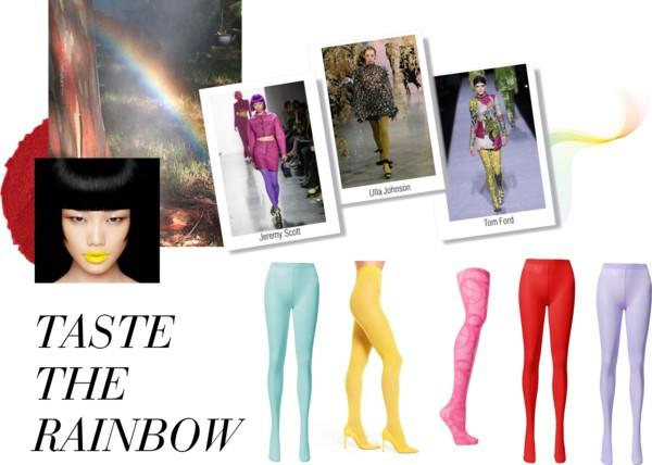 NYFW FW18 Trend: Taste the Rainbow