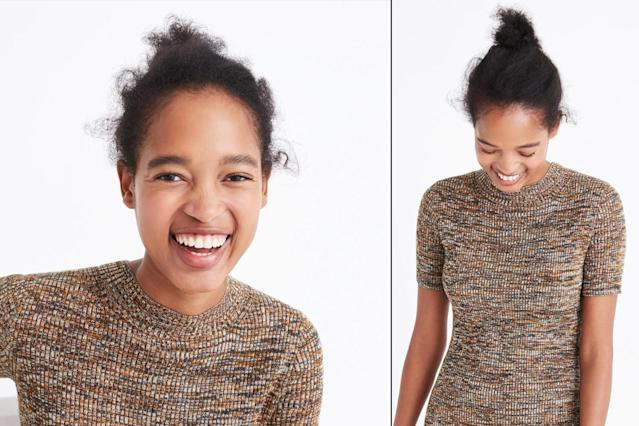 J.Crew has critics calling the brand out for irresponsible hairstyling. (Photo: J.Crew)