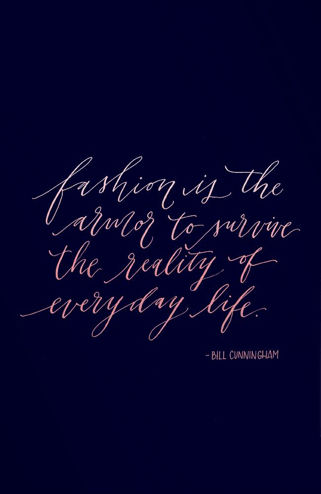The best fashion quotes of all time