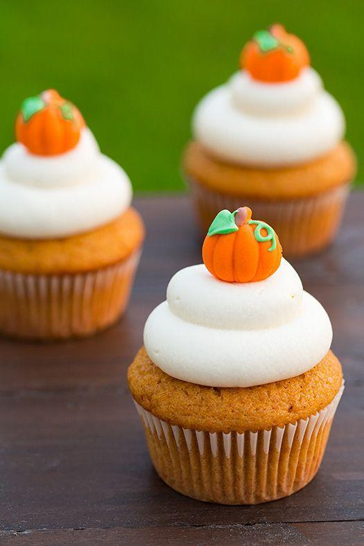 "<p>Edible pumpkin patches are the only kind we want to visit from now on.</p><p>Get the recipe from <a href=""http://www.cookingclassy.com/2014/10/pumpkin-cupcakes-cream-cheese-frosting/"" rel=""nofollow noopener"" target=""_blank"" data-ylk=""slk:Cooking Classy"" class=""link rapid-noclick-resp"">Cooking Classy</a>.</p>"