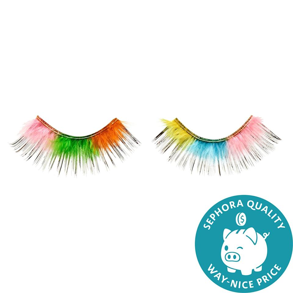 <p>No rainbow-toned animals were harmed in the making of these <span>Museum of Ice Cream x Sephora Collection Rainbow Sherbet Lash</span> ($7, originally $18). Inspired by shades of sherbet, this set adds a fluttery boost of color to any look.</p>