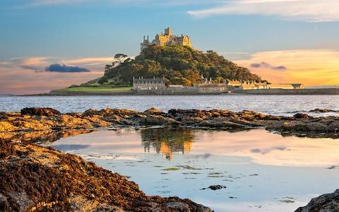 St Michael's Mount, off the coast of Penzance - Credit: istock